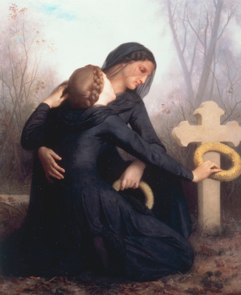 EGLISE.JOUR.DES.MORTS.WILLIAM.BOUGUEREAU.1859.MUSEE.BEAUX.ARTS.BORDZAUX.jourdesmortsbouguereau